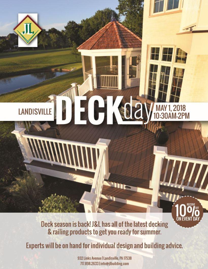 Landisville Deck Day